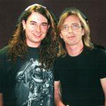 Harry Reischmann und Phil Rudd (ACDC) 2001